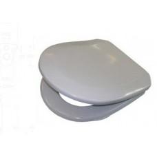 Сидение Треви белое, мягкое, IDO 91260-00